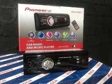 pioneer 6050 в Кыргызстан: Магнитола PIONEER  ,AUX,USBподсветка