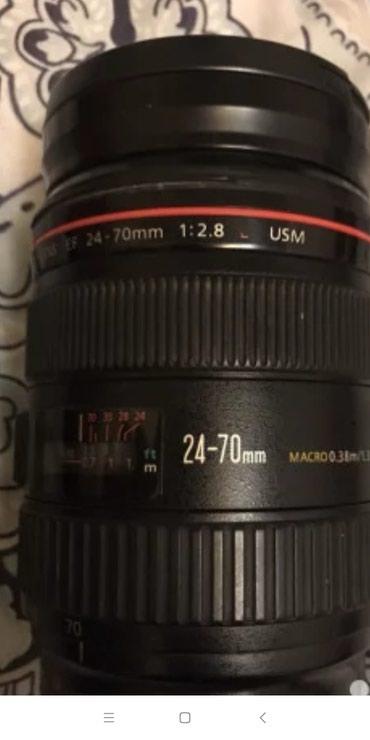 Xaçmaz şəhərində Canon 24-70 mm ela veziyyetde