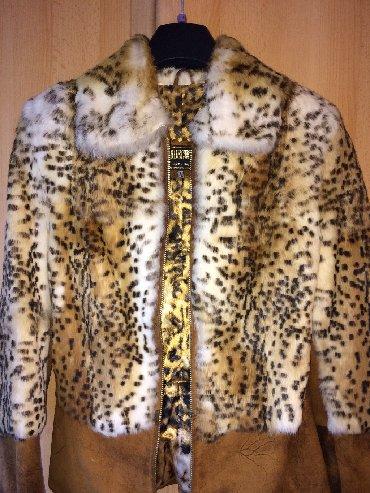 "Brend: ""Nurcini"" 100% Овчина-Quzu derisi. Leopardovı renk. Beden"