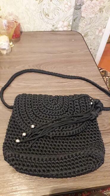 Сумка женская вязанная очень прочная и красивая новая цена 600
