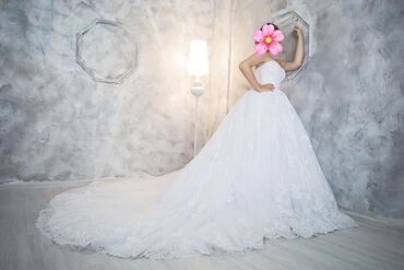 джинсовый корсет в Кыргызстан: Продаю свадебное платье британского бренда love bridal, покупалось в