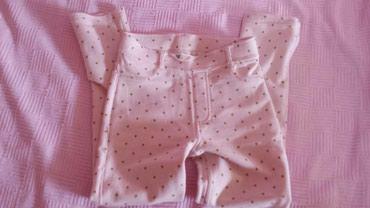 Dečije Farmerke i Pantalone | Subotica: H&M nove,prelepe helanke-pantalone sa likrom 7-8godina 128cm