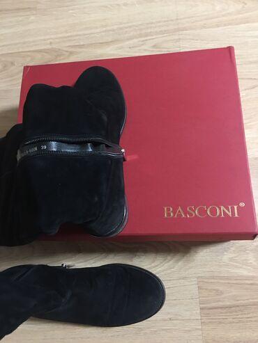 23 объявлений: Сапоги замшевые от BASCONI, выше колен. Размер 39, подойдет на 38