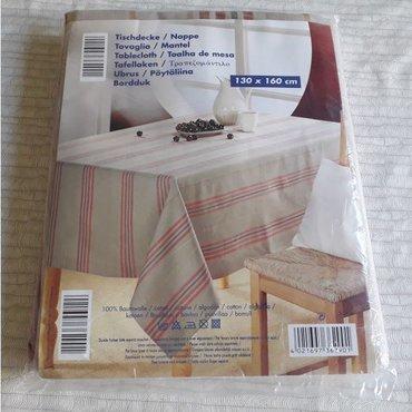 Τραπεζομάντιλο - 100% cotton - 130 x 160 cm - Καινούργιο