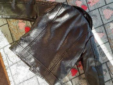 Jakna kožna sa krznom - Srbija: Kožna jakna za devojčice,br.3. obucena samo 3x,jakna je kao