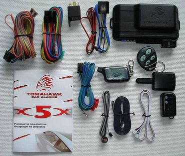 пульт дистанционного управления на айфон в Кыргызстан: Автосигнализация+работа. Сигнализация с автозапуском Tomahawk X5