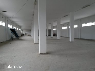 Zavod və fabriklərin icarəsi - Azərbaycan: Аренда склады 3200 кв\м м Короглы Фото реальные Под пищевое