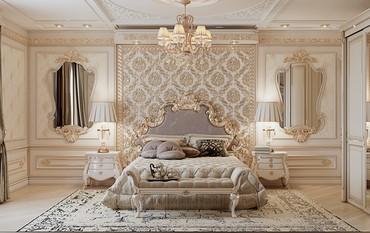 Шикарный дизайн спальни в Бишкеке. в Бишкек