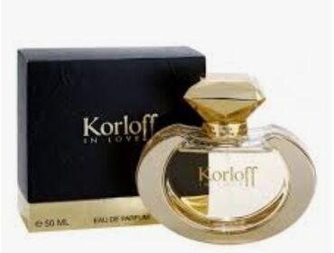 """Korloff """"in love """" 50 ml eau de parfum Paris"""