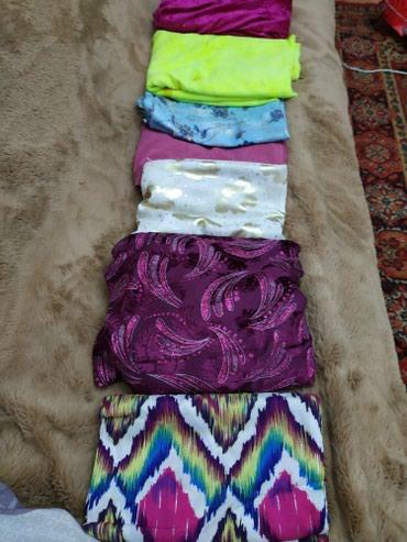 Отрезы для платье по 2,2-2,5 метров по 300 сом в Бишкек
