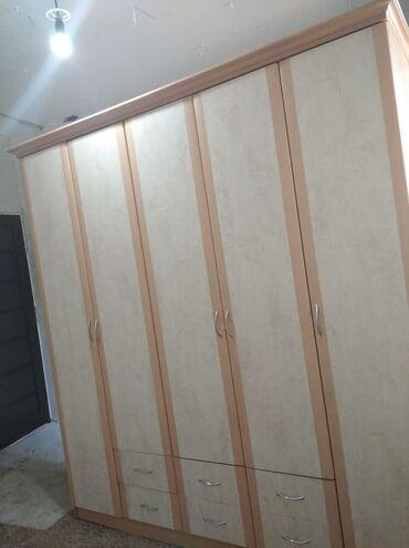 Кровати - Кыргызстан: Спальный гарнитур  Две односпальные кровати+шифонер+письменный стол Со