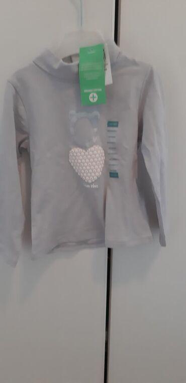 Nova Okaidi majica za devojcice 86, francuski brend100 % organski