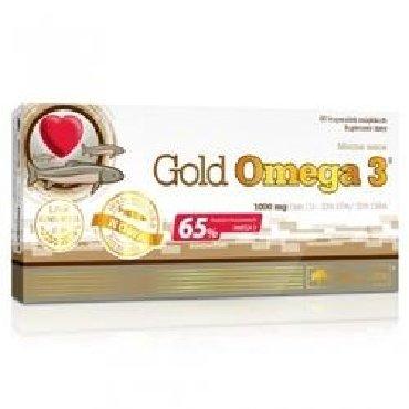 GOLD OMEGA 3,60 kapsulOlimp`inGold Omega 3məhsulu EPT və DHT