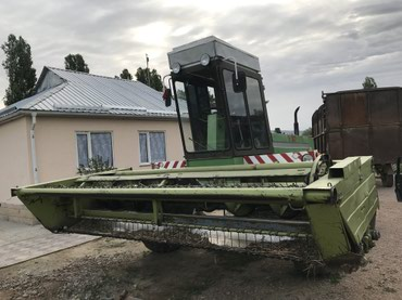Германка  fortschritt Е 303 в таласе  г. в 199З в Кызыл-Адыр