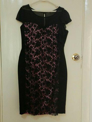 кружевное платье большого размера в Кыргызстан: Нарядное платье пр-во Турция, размер 50. одето только 2 раза. Впереди