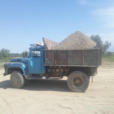 Дом и сад в Ак-Джол: Песок отсев щебень глина гравер камни зил