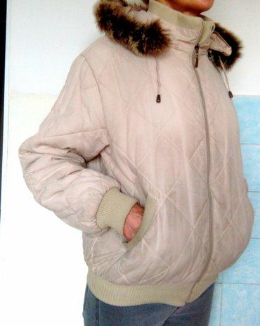 odejda в Кыргызстан: Продам теплую куртку. капюшон и натуральный мех отстегиваются