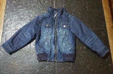 Dečije jakne i kaputi | Krusevac: Decija postavljena teksas jakna, velicina 98. Tik&Tak