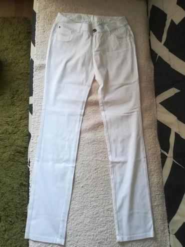 Bele siroke pantalone - Srbija: Bele pantalone TFY brand NOVE Velicina 28