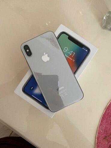 phone - Azərbaycan: İşlənmiş iPhone X 64 GB Boz (Space Gray)