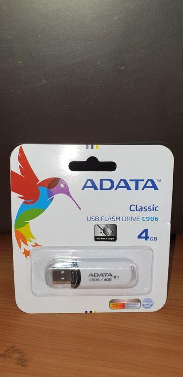 аксессуары для мобильных телефонов в Кыргызстан: USB флешки Adata 4 GB
