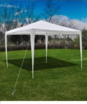 Šatori - Veliko Gradiste: Paviljon bele bojeCelicna konstrukcijaIsporucuje se fabrickom