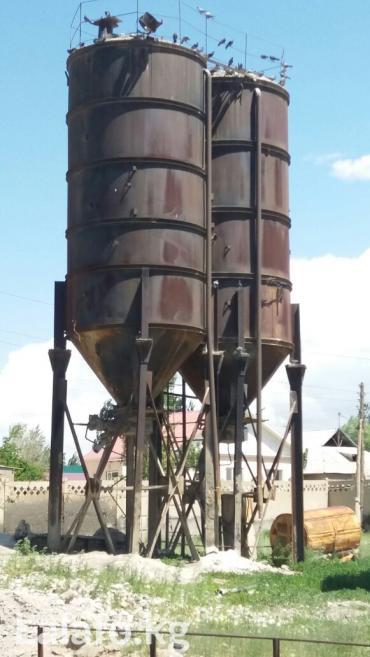 Продаю емкость для хранения цемента 45м3 в Балыкчи