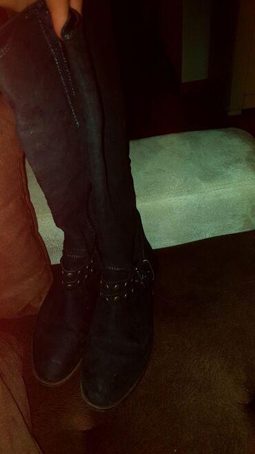 Cizme kao nove,jednom obuvene br 37