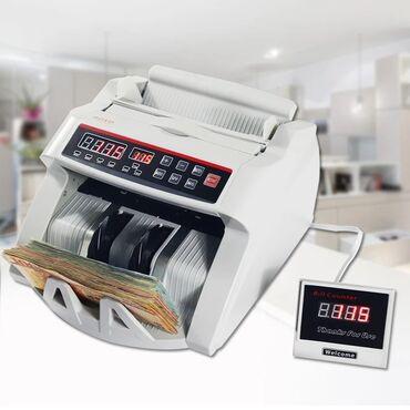 Машинка для счета денег, bill counter c детектором uv +бесплатная