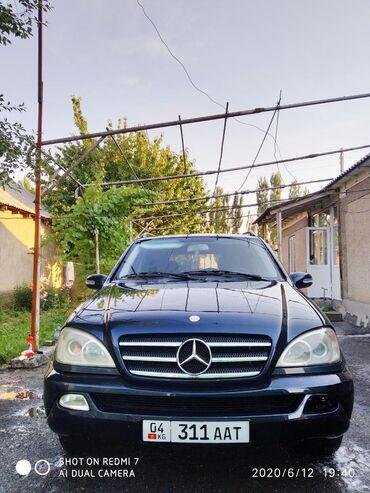 mercedes-benz-2-7-diesel в Кыргызстан: Mercedes-Benz M-Class 2.7 л. 2002
