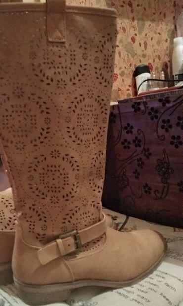 Zenska odeca i obuca - Srbija: Zenske čizme Graceland,obuvanje samo jednom i očuvane kao nove sto se