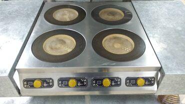 плита индукционная в Кыргызстан: Оборудование для кафе и ресторанов. Продается индукционная плита 4