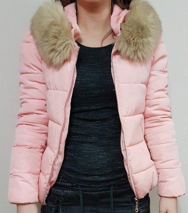 Hm-tanka-jaknica-puder-roza-s - Srbija: Jakna roza s velicina