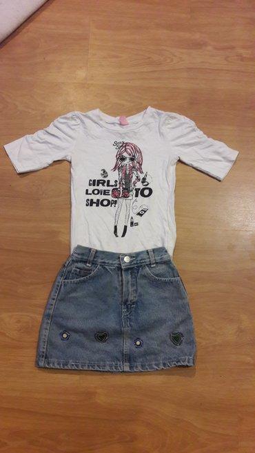 DOPO-DOPO majica + suknjica vel. 5 / 116 - Prokuplje