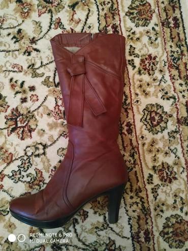 Женская обувь в Токмак: Сапоги женские!Натуральный мех и натуральная кожа!Размер