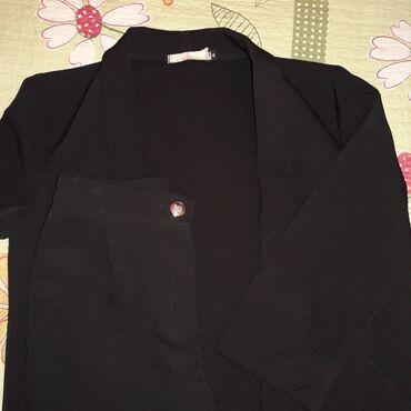 платья костюмы вечерние в Кыргызстан: Срочно!!!Костюм в чёрном цвете, подойдёт для любого образа.Тренд 2020