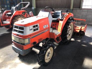 Продается надежный японский мини трактор KUBOTA GT5. Оснащен 4х