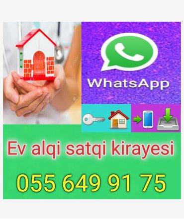 Emlak ev alqi satqi kiraye 560 azn icareye arendaya obyekt satdiq в Bakı