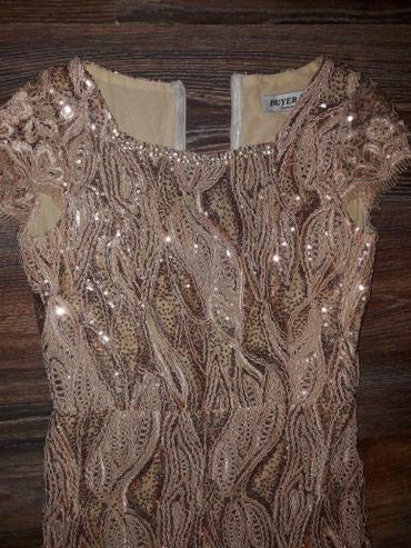 Bakı şəhərində Платье коктельное новое.очень красиво сидит размер 36