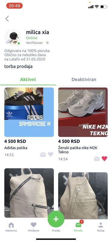 Nike patike - Srbija: NE PREPORUCUJEM SARADNJU SA DOTIČNOM, JAVILA SAM JOJ SE ZA PATIKE MK2