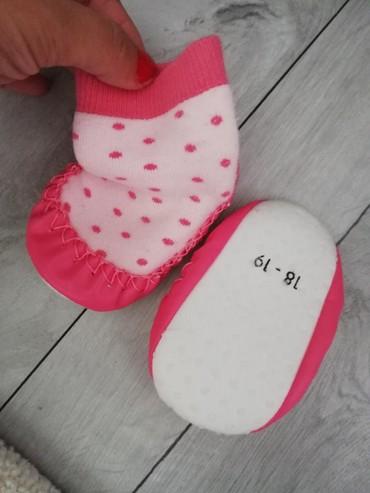 Dečije Cipele i Čizme - Sjenica: Bebi carapica cipelice18-19 br, slabo nosene