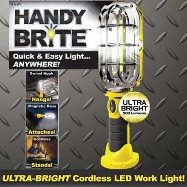 Novo praktična ultra sjajna bežična brio LED radna lampa u slučaju 5