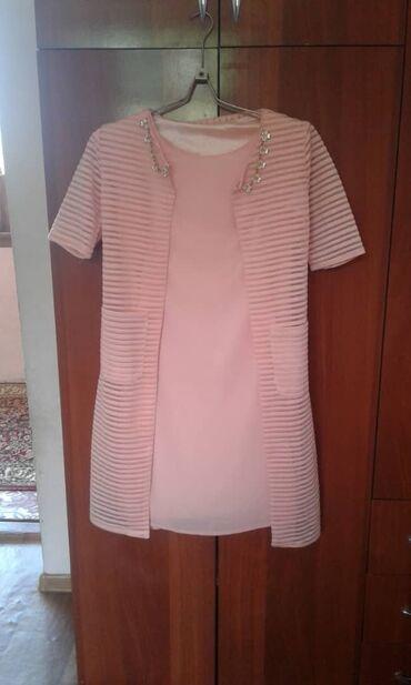 Женская одежда в Ноокат: Жаны двойка размер 42-44
