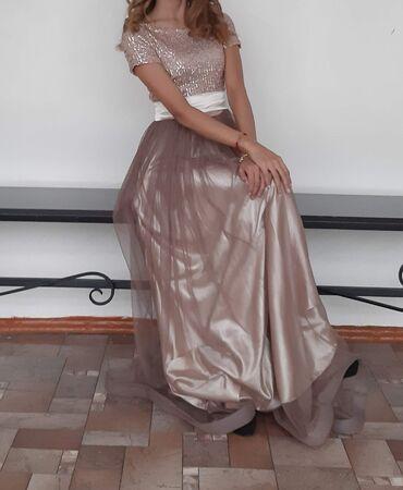 Вечернее платье Размер: sКачество отличноеОдин раз надевала В отличном
