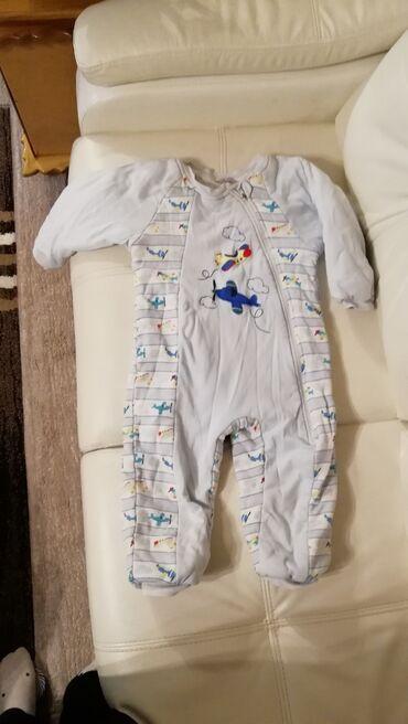 Спальный костюм. 5 лет. (110 см) Костюм для сна тёплый, из чистого