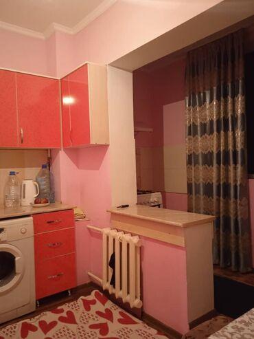 Недвижимость - Алмалуу: 106 серия, 1 комната, 38 кв. м Бронированные двери, Дизайнерский ремонт, Лифт