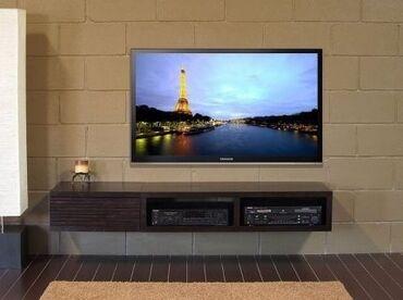 Установка телевизоров на стену установка антены настройки! г.Ош!