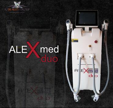 Yeni model ALEXmed duoLazer tipi Diod-Dalğa uzunluğu