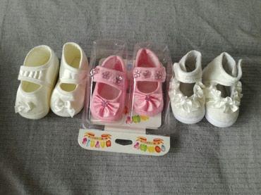 Nehodajuce cipelice do godinu dana, NOVE ne koriscene, roze 350, bele - Nis