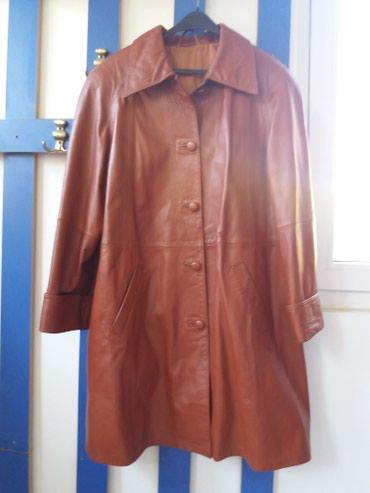 Ramena-sirina-cm - Srbija: Kozni mantil prirodna koza 42br Duzina 1m Sirina ramena 50cm